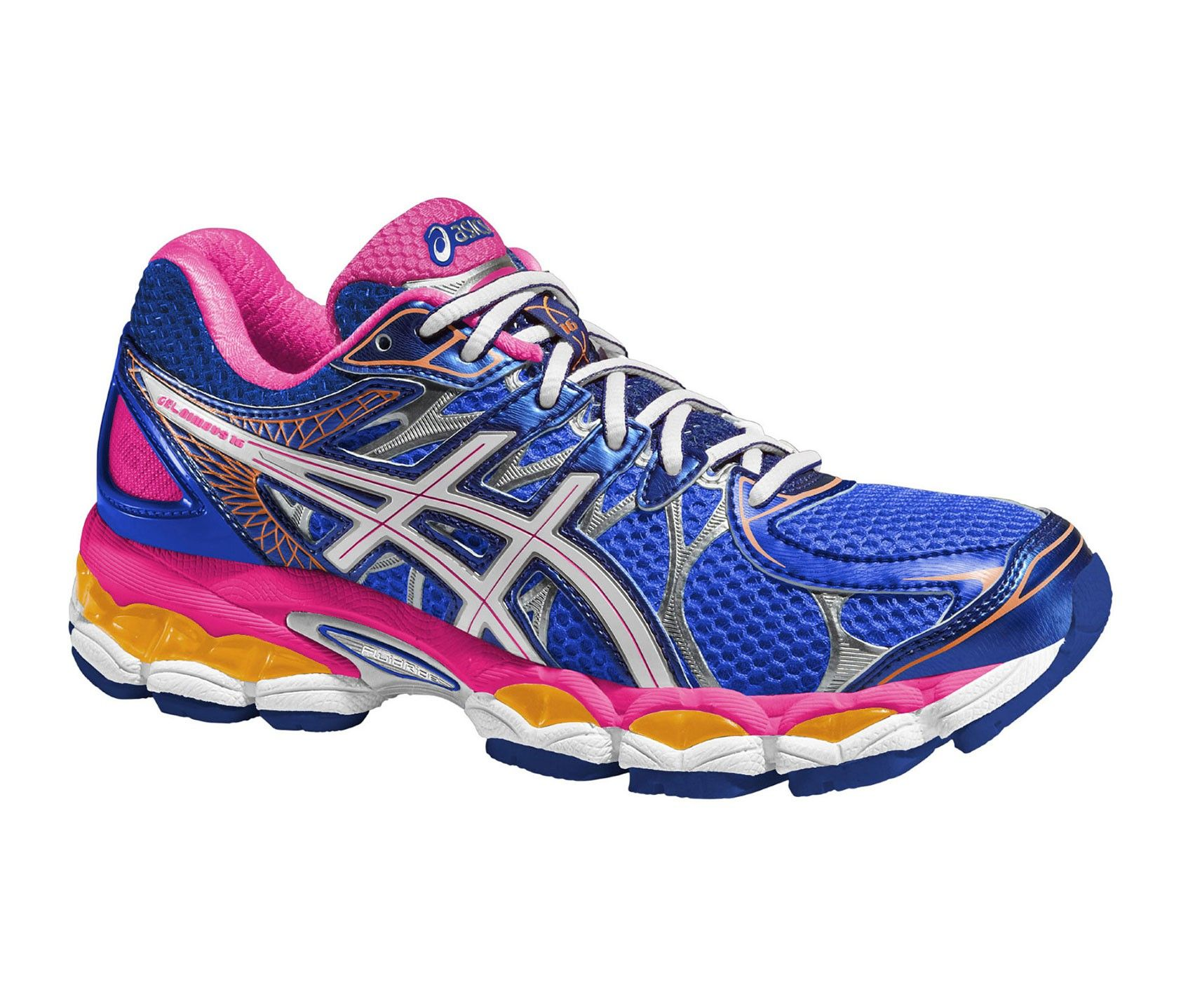 ASICS GEL NIMBUS 16 AZUL/ROSA MUJER · Long Distance Running ShoesRunning ...