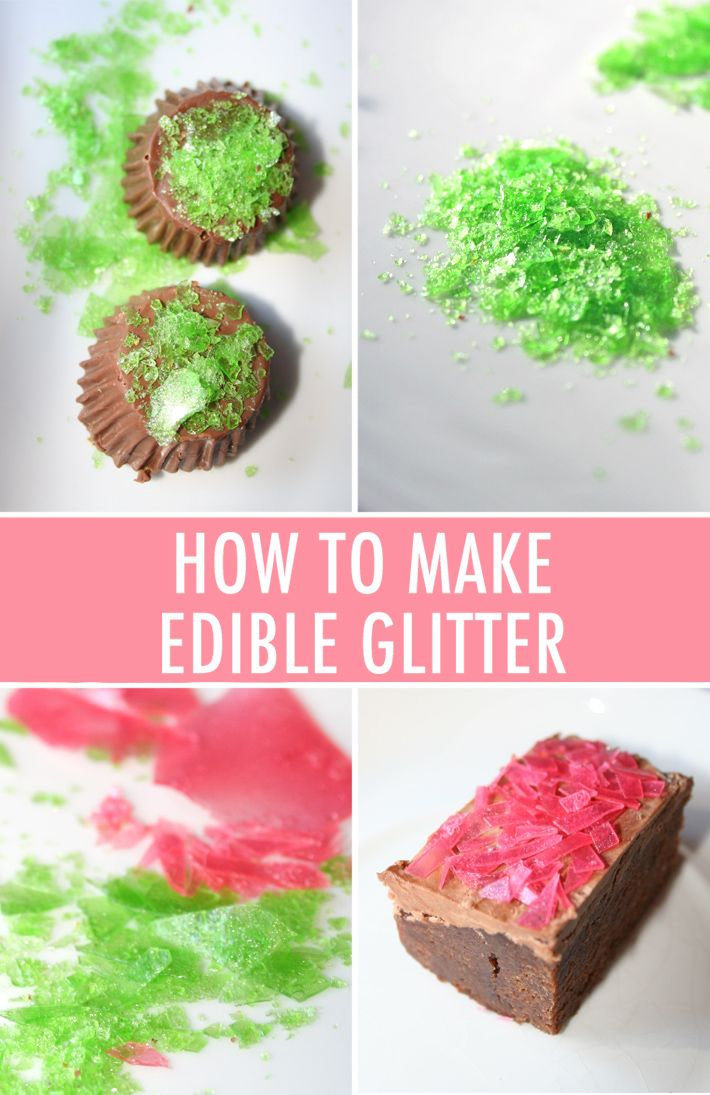 Sweets That Sparkle: How to Make Edible Glitter   Edible ...