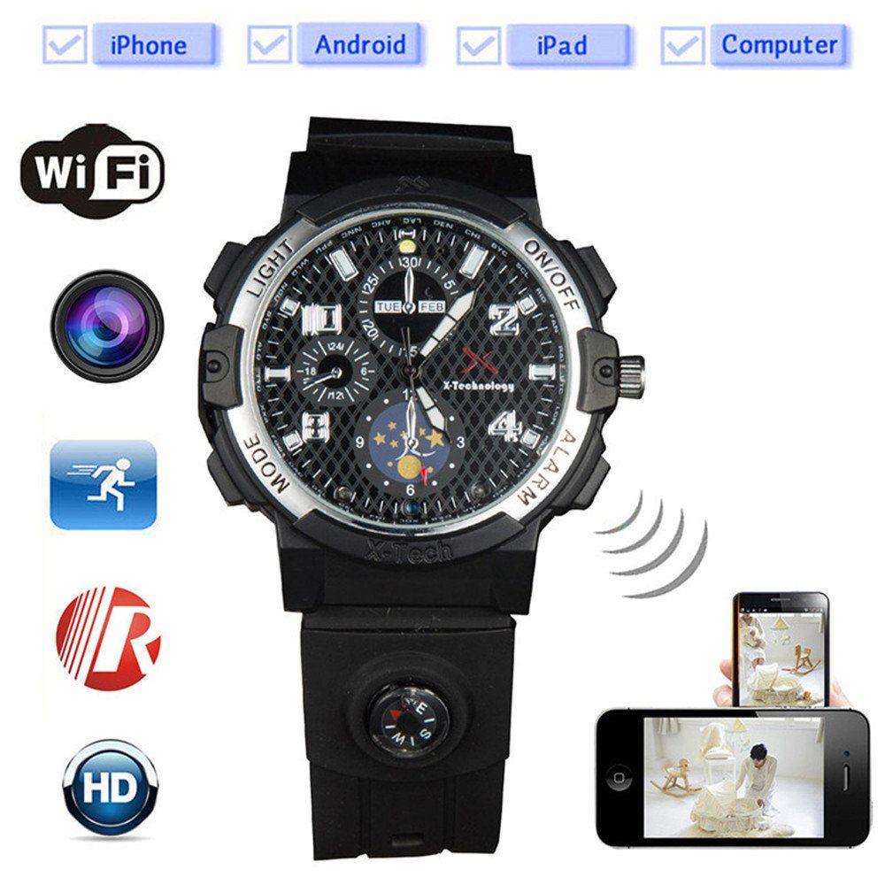 Wifi Smart Watch Video Camera Y32 Full HD Wireless Camera Security