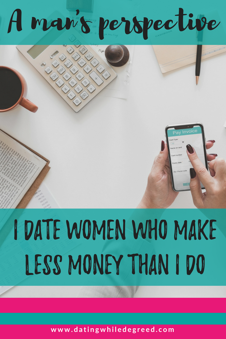 Dating a man who makes less than you