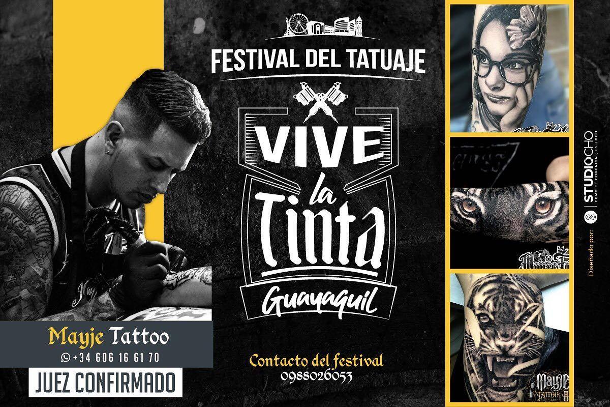 Es un Honor ser invitado a esta convención de Tatuajes para ser uno de los JURADOS 💪🏽👍🏽😊 aquí en mi ECUADOR 🇪🇨 , gracias @vivelatinta.ec  allí nos vemos Guayaquil 👍🏽😎👌🏽😊 FESTIVAL DE TATUAJE  VIVE LA TINTA Guayaquil este 7 de Julio , Mall del Sol ( Salón Diamante ) ! No te quedes sin Visitarnos !!!! Estará Increíble !!! #mayjetattoo #tatuaje #ink #tattoo #ecuador #ecuador🇪🇨 #ecuadortattoo #tattooecuador  #juez #vivelatinta #guayaquil #festivaldetatuaje #malldelsol