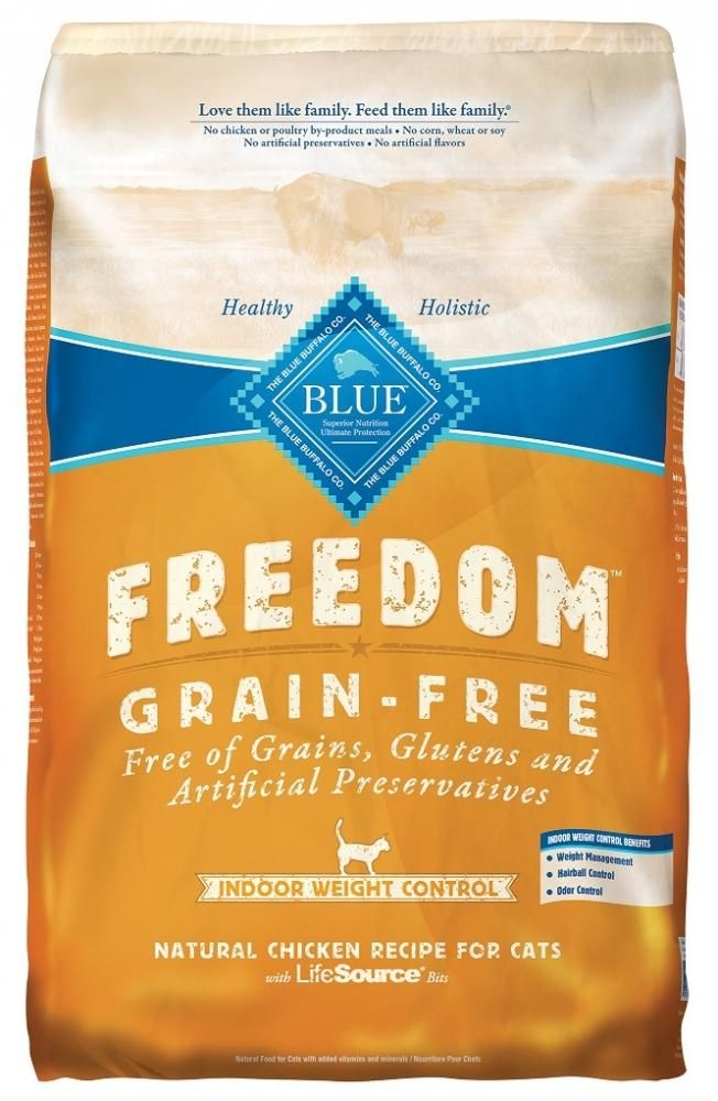 Blue Buffalo Freedom Grain Free Indoor Weight Control Dry Cat Food