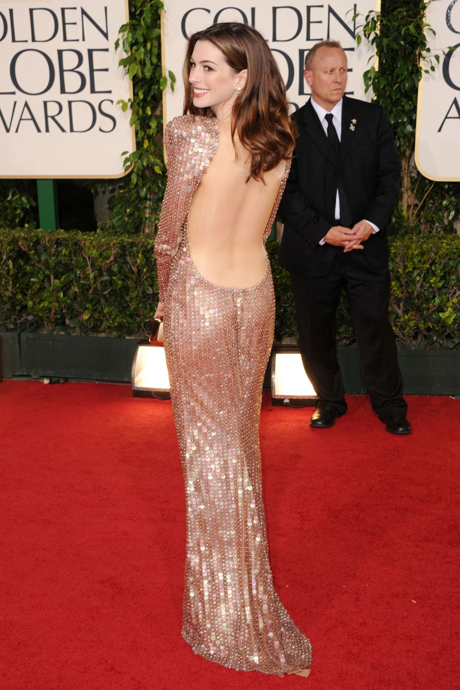 The most iconic backless gowns to hit the red carpet backless