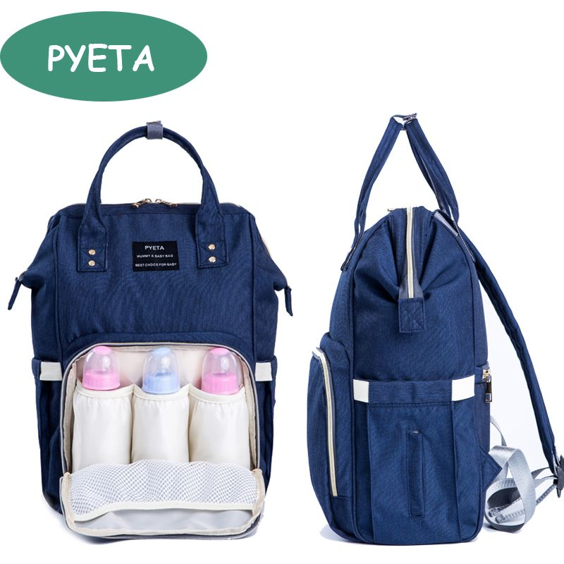 Fashion Mummy Maternity Nappy Bag Brand Large Capacity Baby Bag Travel  Backpack Desiger Nursing Bag for Baby Care 406186f824