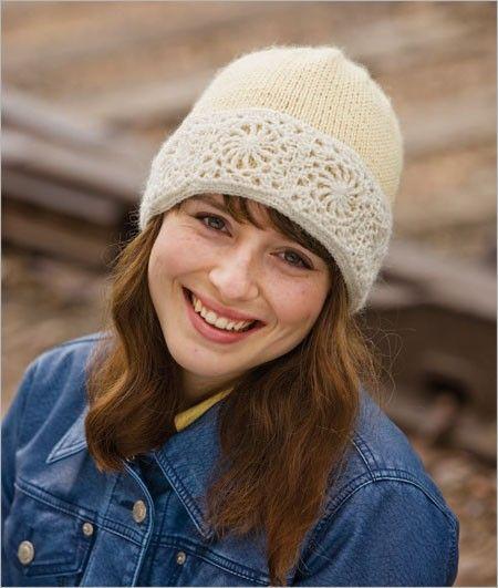 Snow Queen Hat - Knit and Crochet Versions Crochet Pattern Download #queenshats