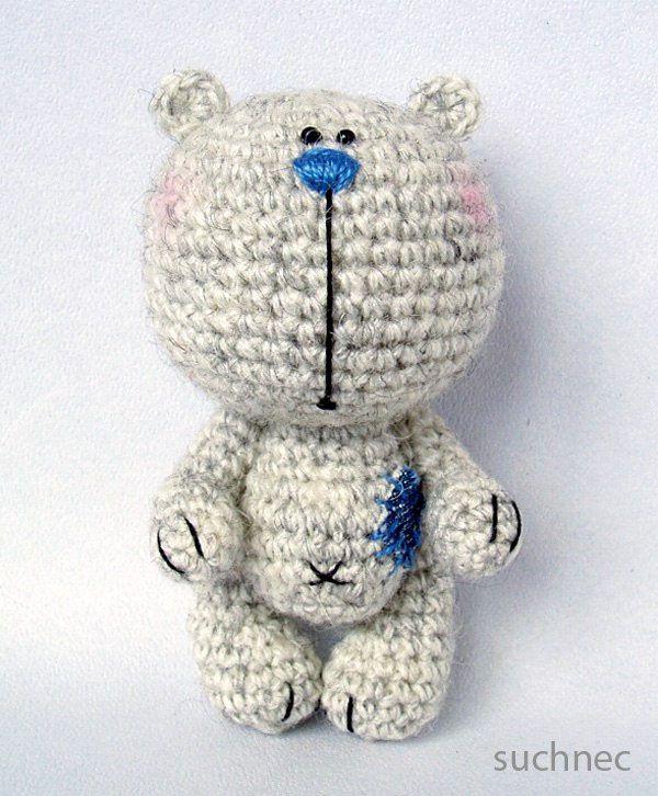 Bear amigurumi | mammal amigurumi | Pinterest | Tejido, Osos y ...