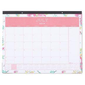 "Day Designer Desk Calendar, 2016-2017, 22"" x 17"" - Multicolor"