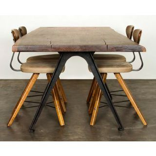 Astounding Vintage Industrial Furniture Rn 440 Smoked Oak Dining Download Free Architecture Designs Jebrpmadebymaigaardcom