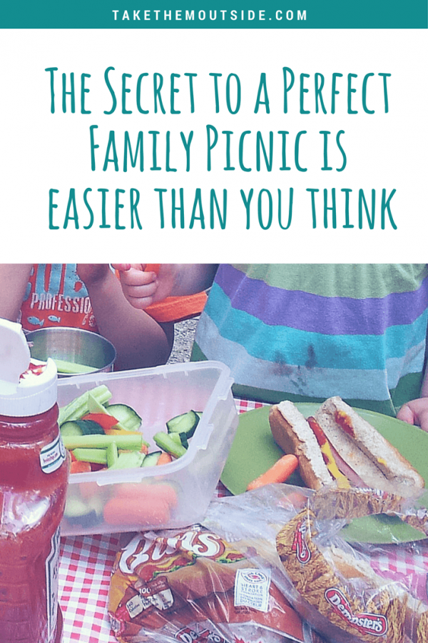 Easy Family Picnics are Simpler Than You Think #familypicnicfoods