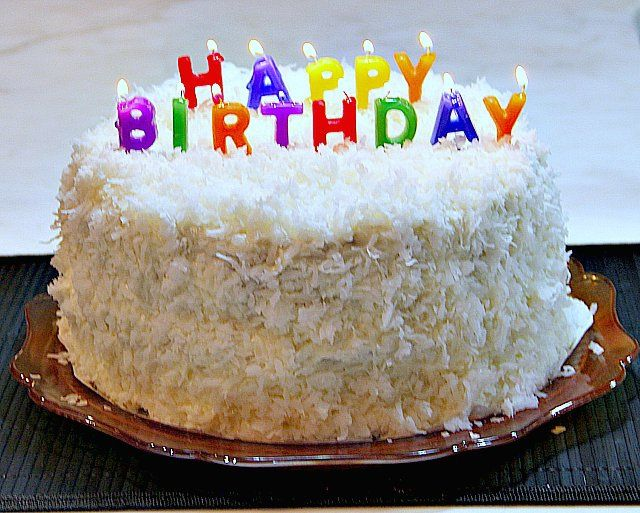 Coconut Cake New Years Eve Birthday Cake With Images Happy