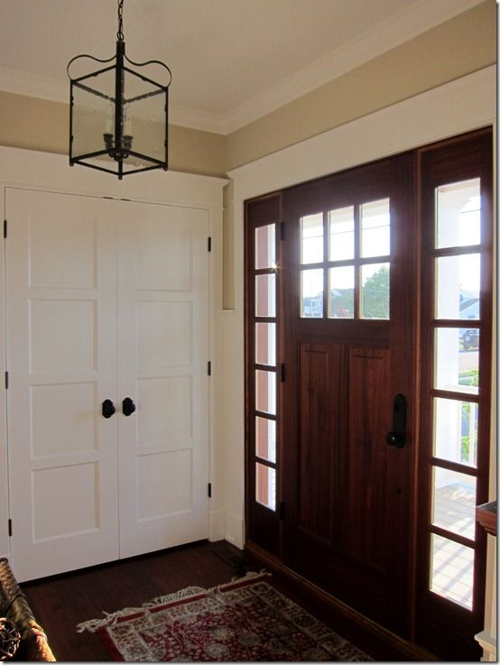 Weekend Down At The Jersey Shore French Doors Entry