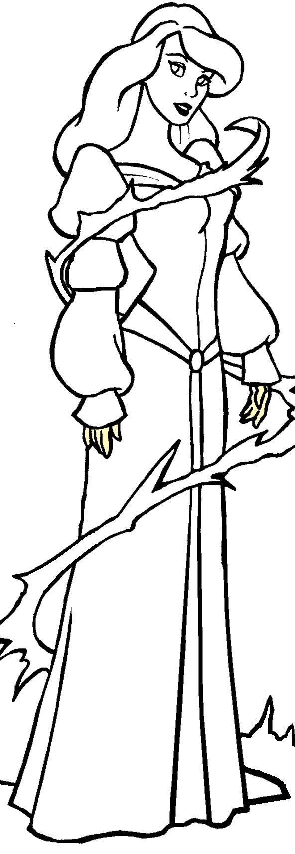 The Swan Princess Coloring Pages For Kids Paint Princess
