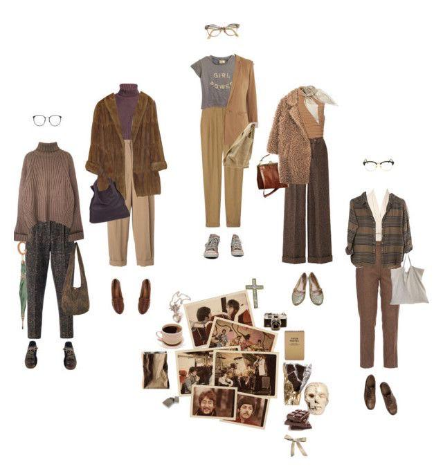 Dark Academia Fashion Lookbook