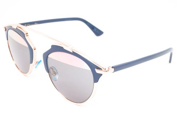 9ce305aaf87 ... Blue Rose Gold Womens Mirrored Sunglasses - Add this one to your  Wishlist! - Free United States S H - Lowest Prices on Name Brand Fashion Eyewear  Online