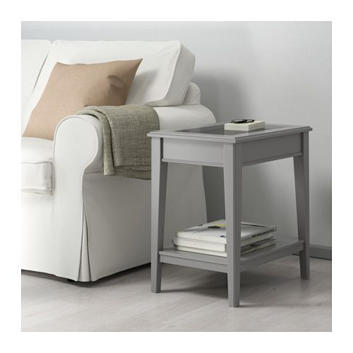 "liatorp side table  white glass 22 12x15 34 ""  ikea"