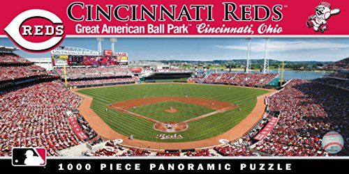 Masterpieces Mlb Cincinnati Reds Stadium Panoramic Jigsaw Puzzle 1000piece Want Additional In Cincinnati Reds Baseball Cincinnati Reds Sports Games For Kids