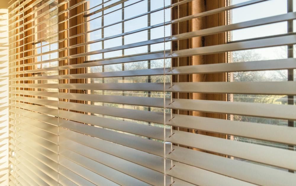 Unlike Automatic Blinds That Require Professional Installation Tmb S Shade Tilting Module Is Designed To Be Retrofitted O With Images Blinds For Windows Diy Blinds Blinds