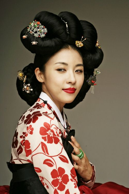Traditional Korean Hairdo Wig Ga Chae 3 Pinterest