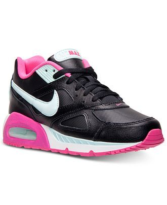 best service 68979 12e55 Nike Womens Shoes, Air Max IVO LTR Running Sneakers - Kids Finish Line  Athletic Shoes - Macys