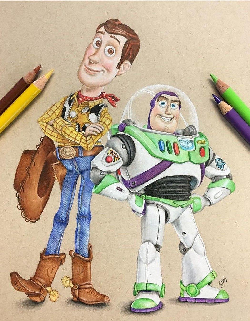 Toy Story Sketch Disney Paintings Disney Drawings Disney Artwork