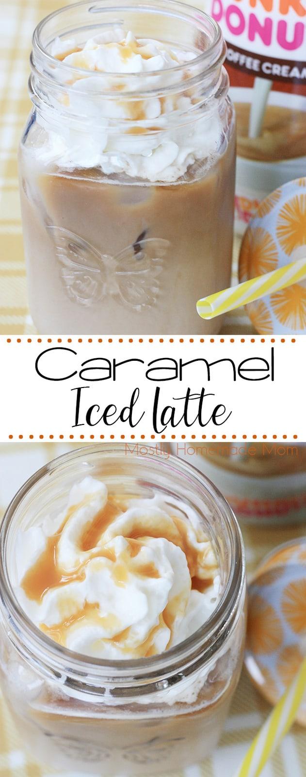 Caramel Iced Latte Recipe Coffee recipes, Coffee drink