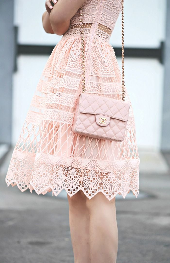 Lace On Lace Ralph Lauren Jacket Alexis Pink Lace Dress
