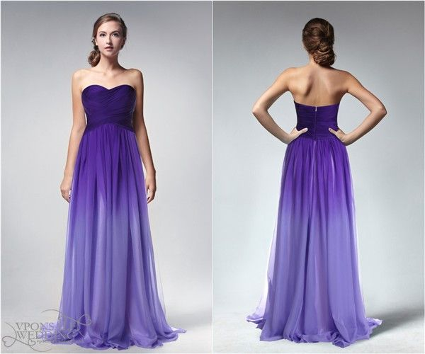 Wedding Trends} Ombre Wedding Colours & Dresses Ideas 2013 / 2014 ...