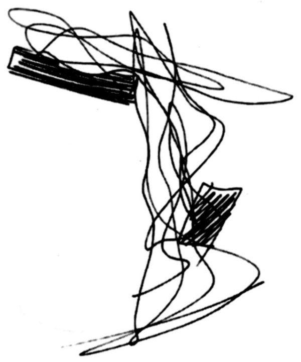 sketch from zaha hadid