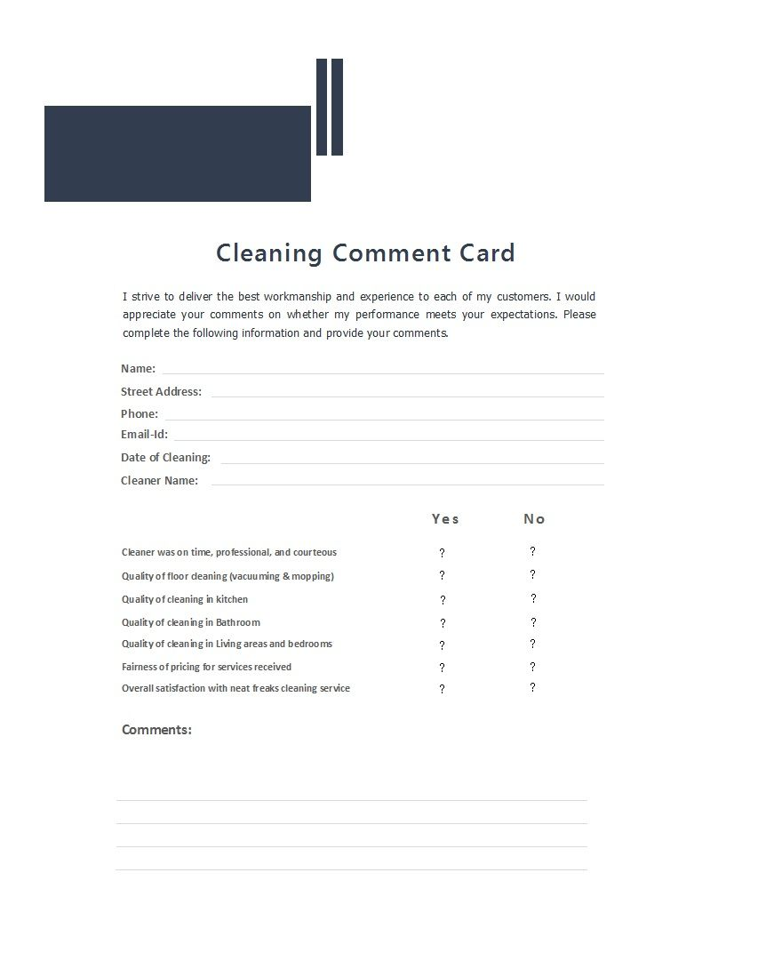 Restaurant Comment Card Template New 12 Useful Restaurant Review Card Templates Designs Free Printable Card Templates Card Templates Card Template