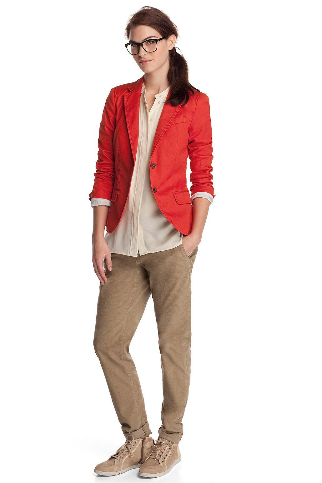 9e50892973ef Baumwoll-Stretch-Blazer CASUAL - Esprit Online-Shop | Love | Blazer ...