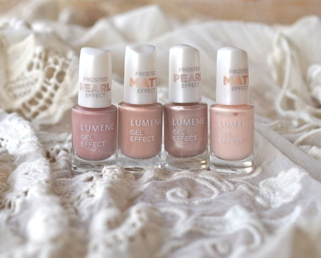 "Blogger Minttu/Go 4 it vol. 2 usually chooses deep, dark shades for her nails in the autumn, but now went for sophisticated nude shades instead. ""Feel surprisingly good"", she states! #nailpolish #lumene"