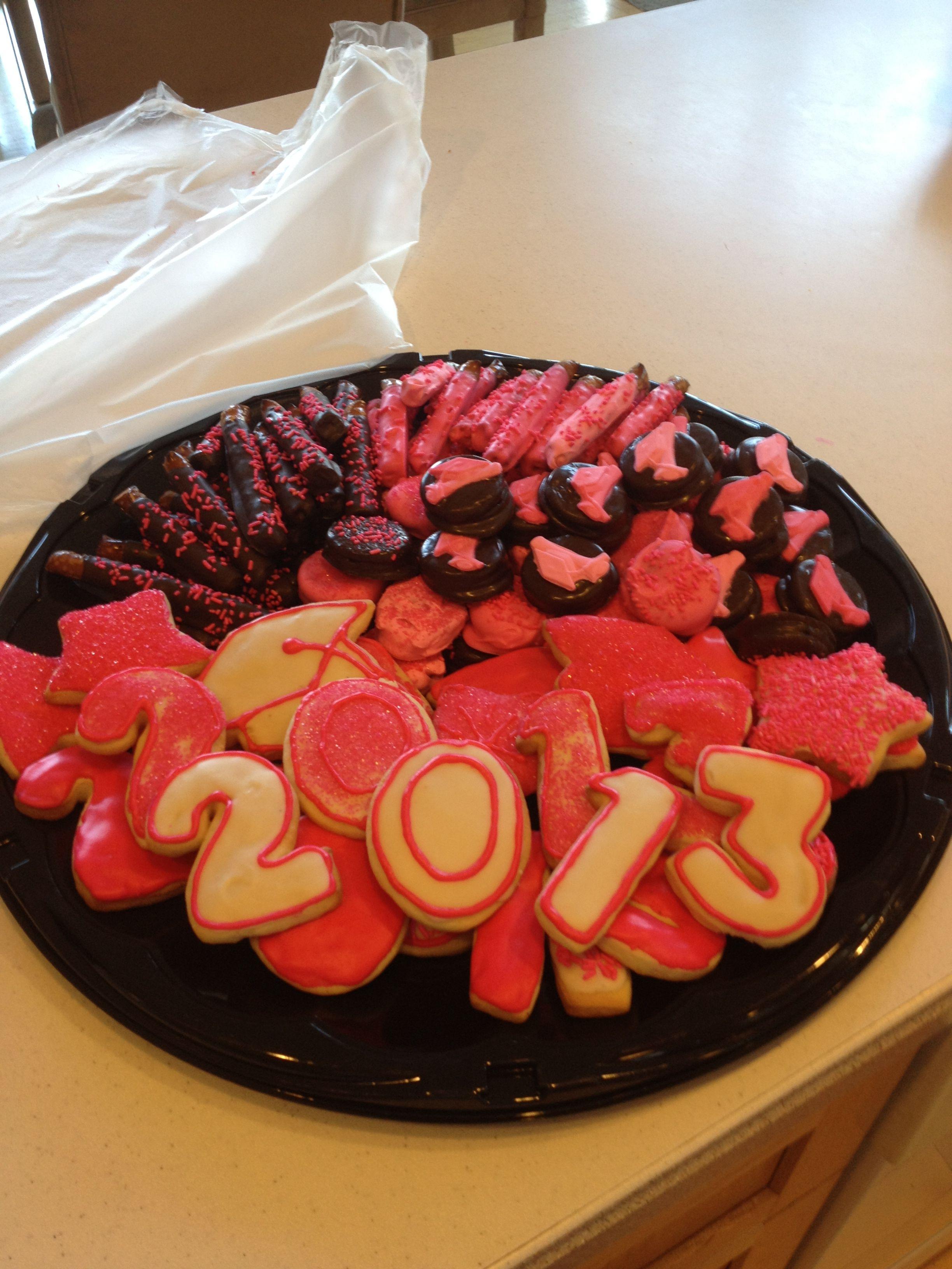 Graduation goody tray