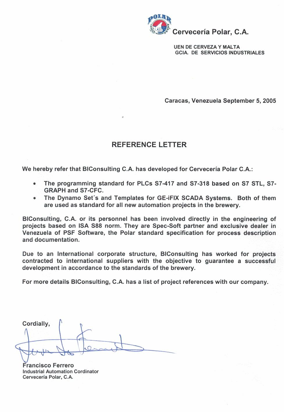reference letter template open office    topresume