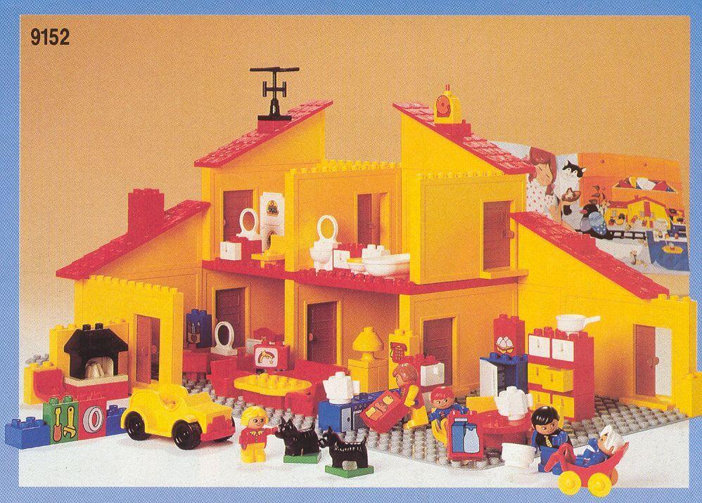 Lego Duplo House Instructions 9152 Dacta Lego Duplo Lego Projects Duplo