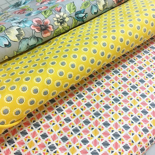 We have some new lawns in stock! These cute prints are from ... : dallas quilt shops - Adamdwight.com