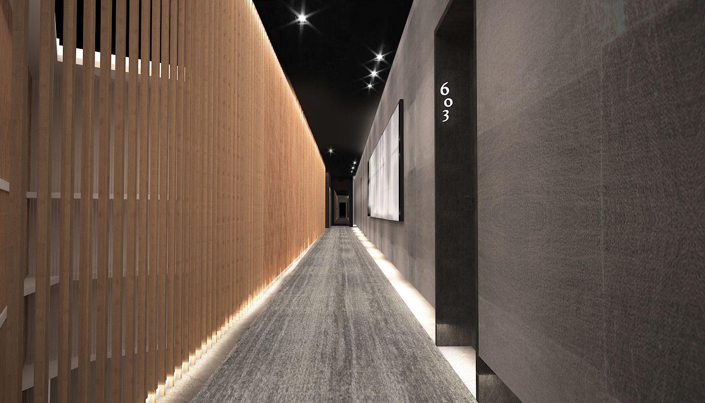 Art Hotel Corridor Design, Africa NY Interior Designer