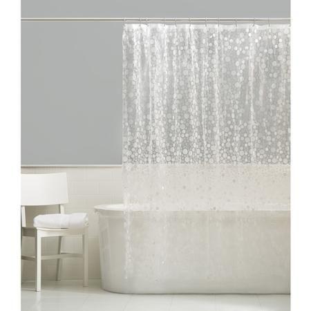 Ordinaire Maytex Ice Circles Vinyl Shower Curtain