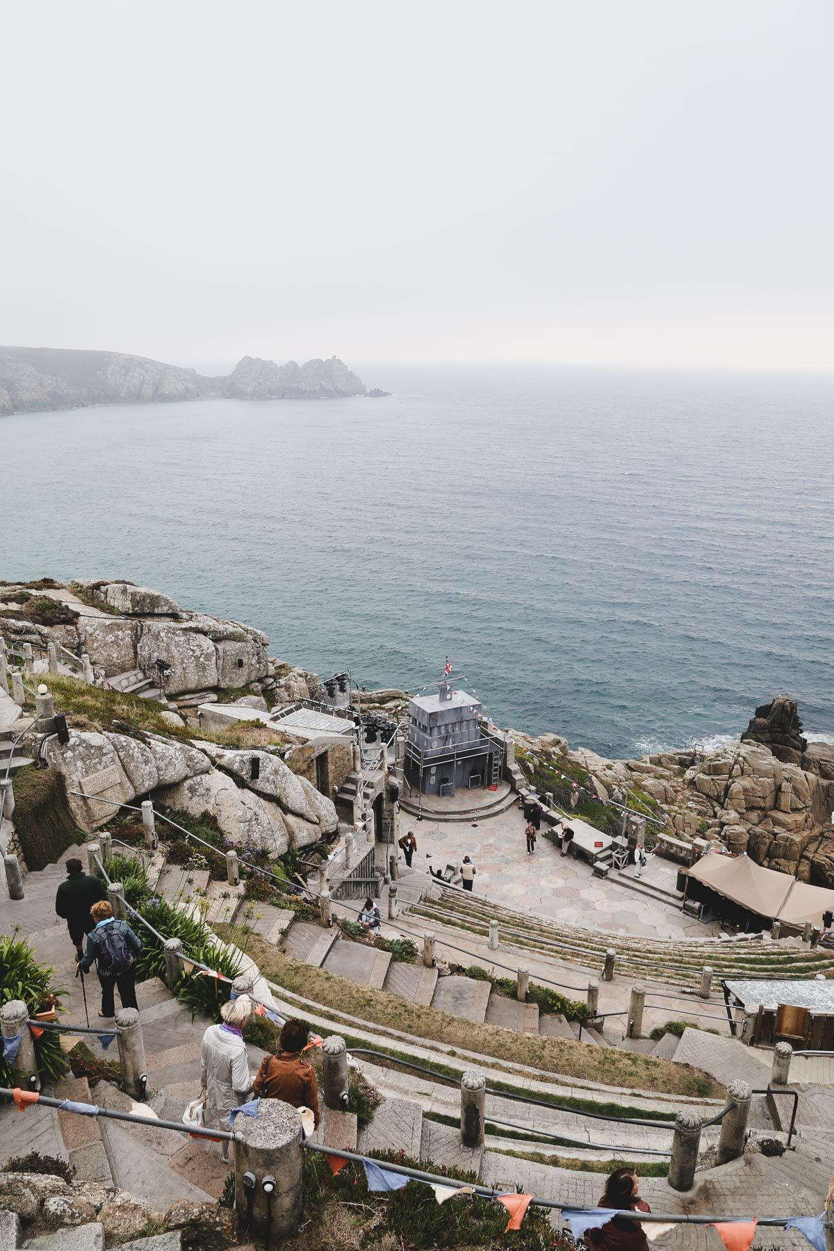 Minack Theatre The Theater by the Sea in Cornwall