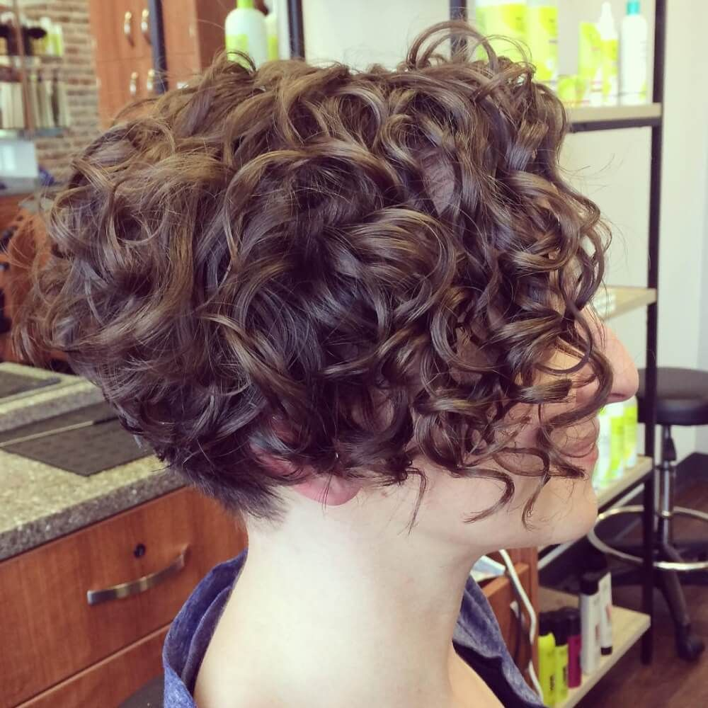 29 Short Curly Hair Ideas Trending Right Now (Hairstyles + Haircuts) | Short  curly bob hairstyles, Short wavy hair, Short curly hairstyles for women