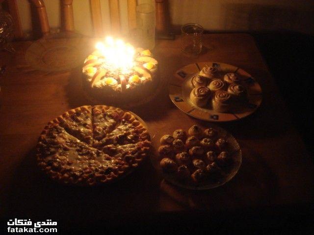 تعالوا اتفرجوا على تورتة وحلويات عيد ميلاد جوزى Birthdays