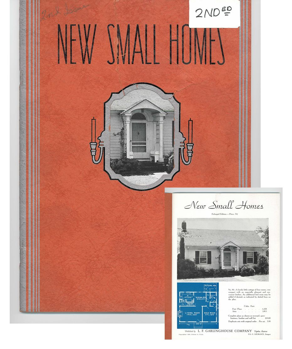 Home Catalog Companies: Published By L.F. Garlinghouse Company In 1936, This