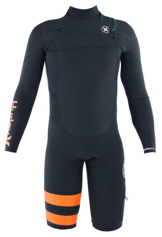 2mm Men's Hurley FUSION LS Springsuit | Wetsuit Wearhouse