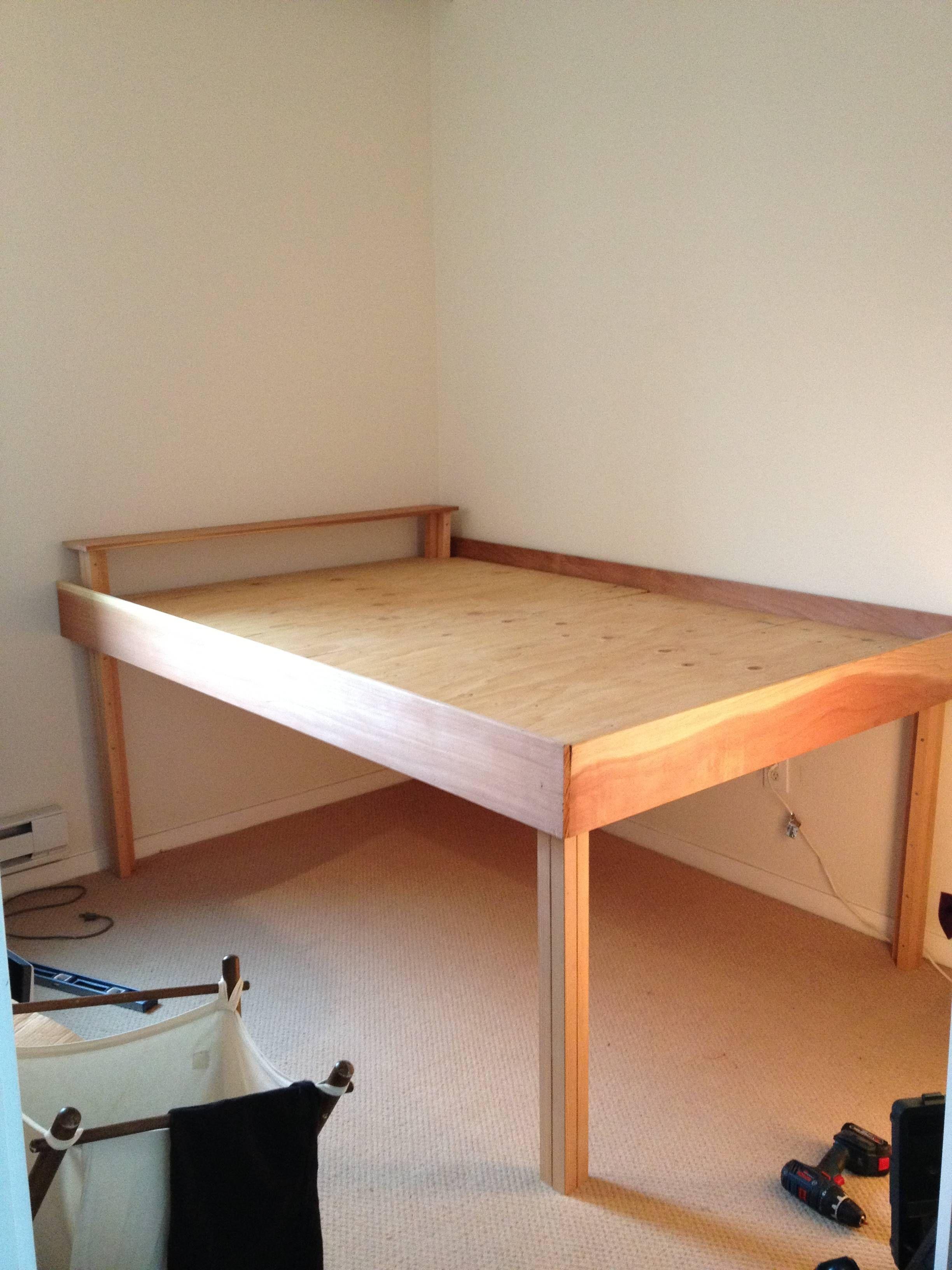 Raised Bed Raisedbedroombeds High Bed Frame Loft Bed Frame