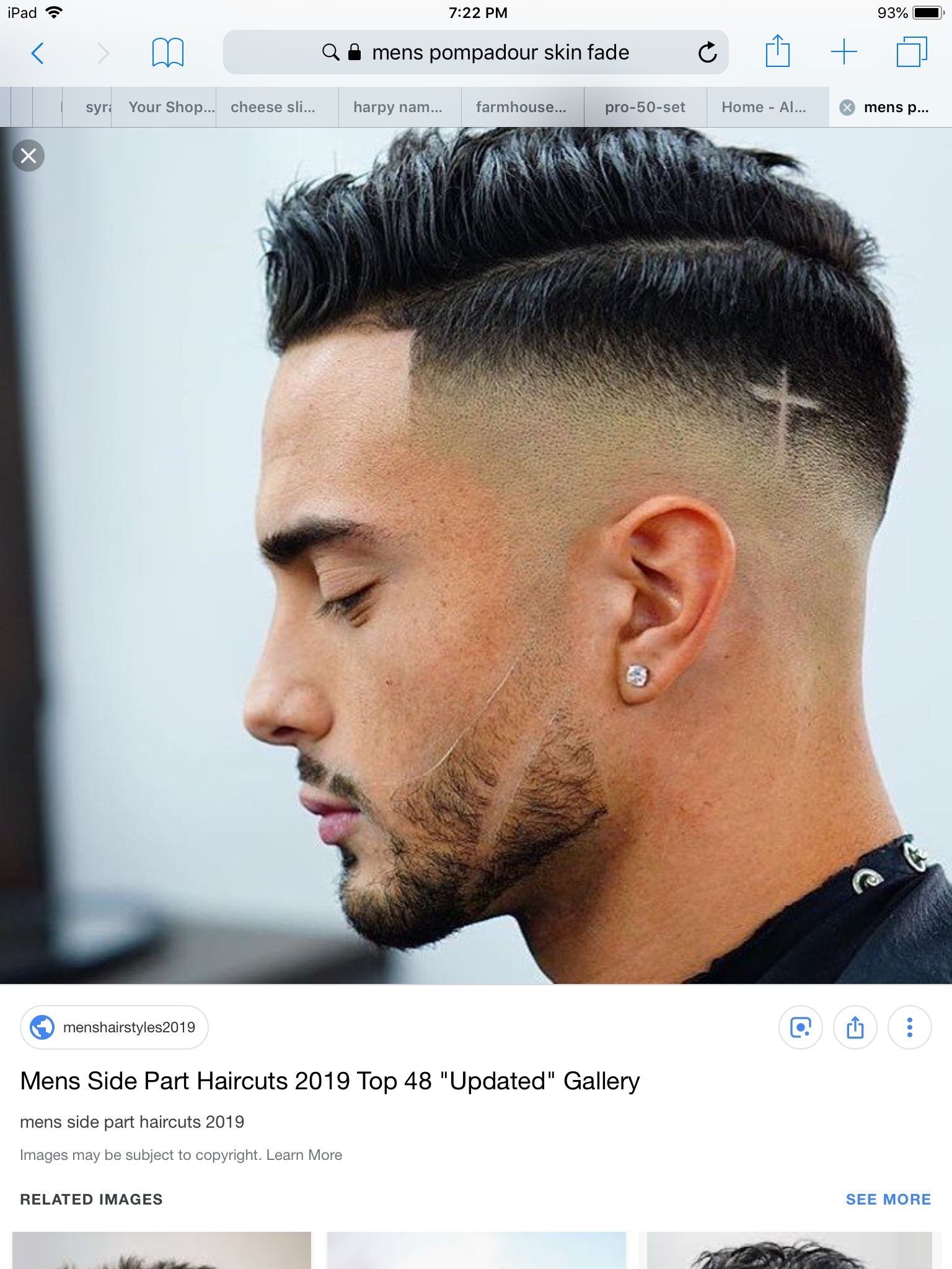 Mens Fade With Cross Design Fade Haircut Designs Mens Hairstyles Fade Faded Hair