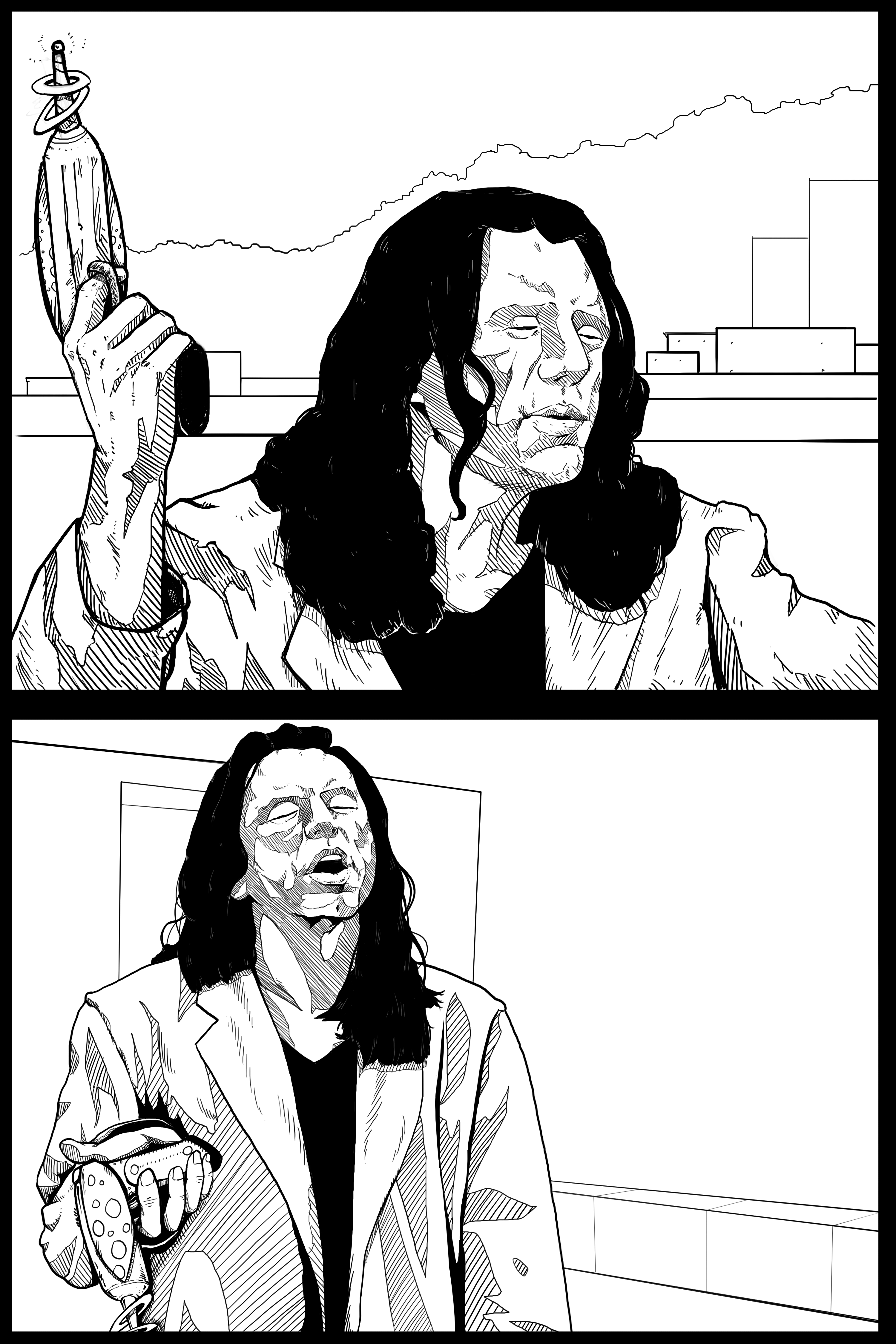 Pin by Ben on The Room (2003) in 2019 Comic book pages