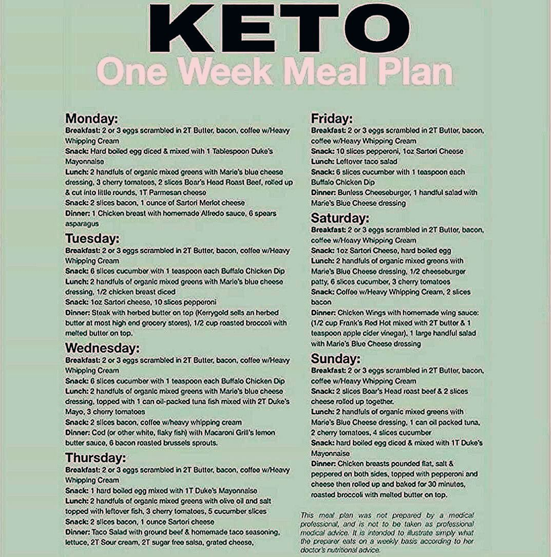 One week keto diet meal plan. Keto for beginners. MORE RECIPES HERE 👉Get 5 fr…