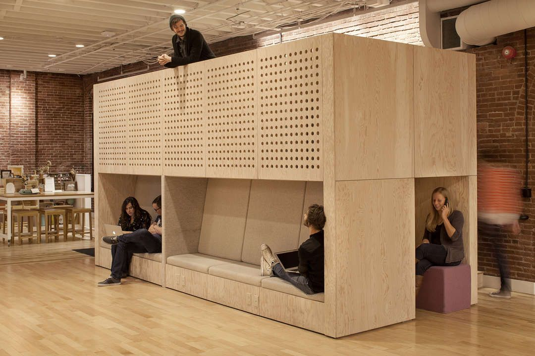Airbnb Portland Office on Architizer
