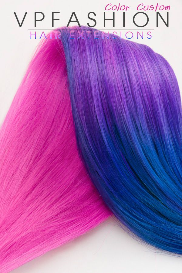 Ombre Hair New Choice Pink Ombre Hair Color With Purple And Blue