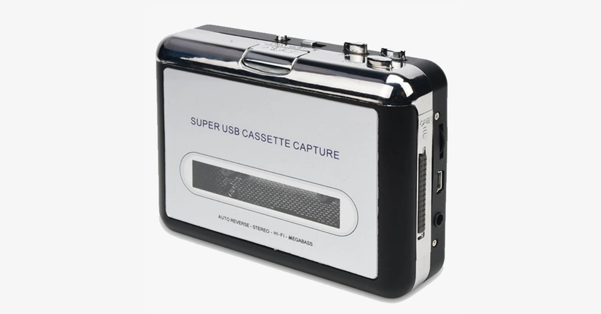 Cassette Tape To MP3 Converter