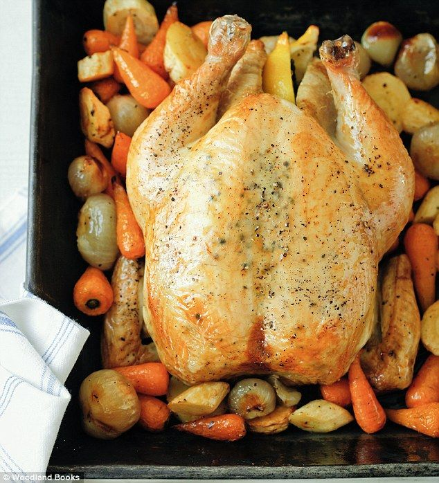 Mary Berry: Whole roasted garlic chicken